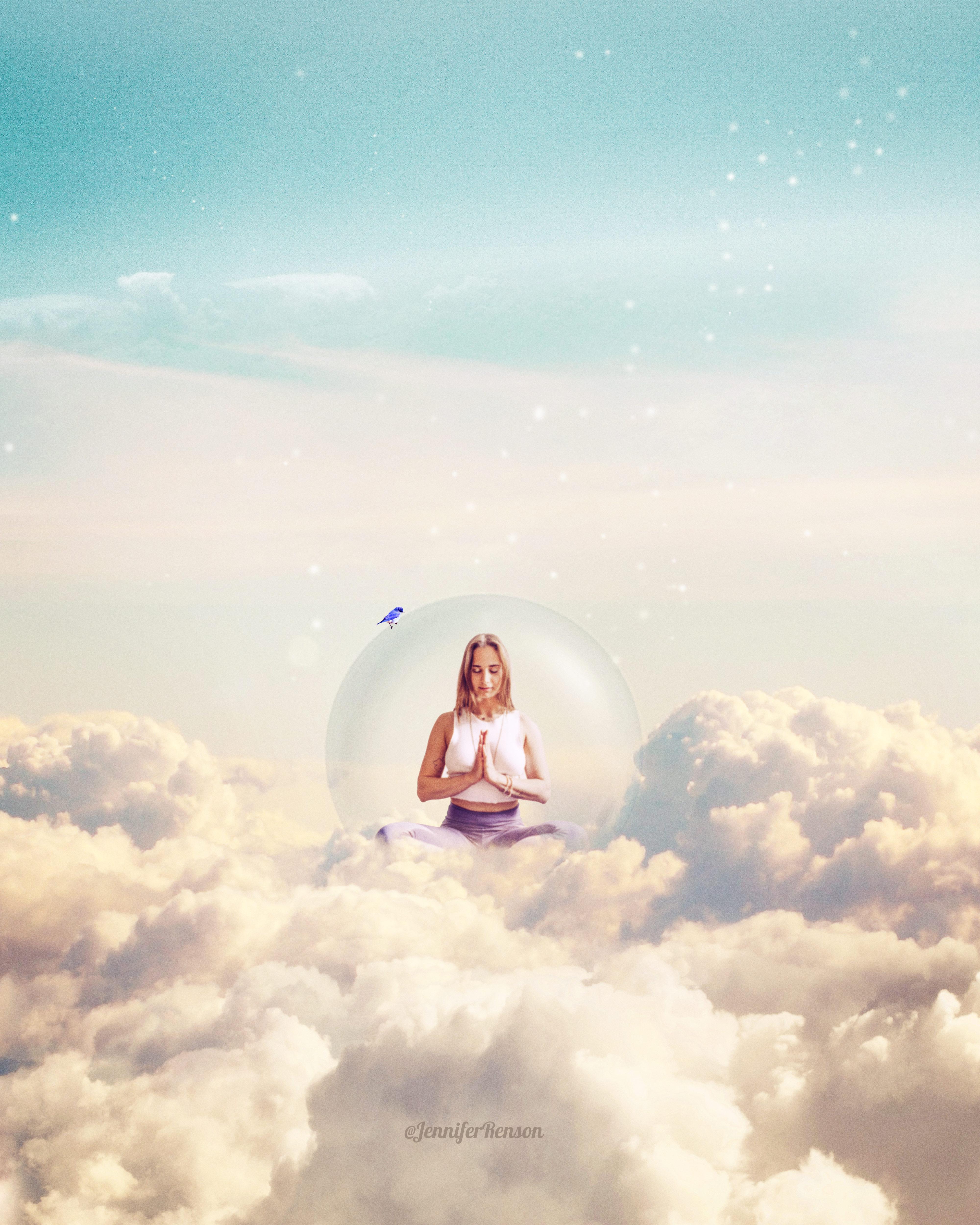Image composite illustration réalisée avec photoshop
