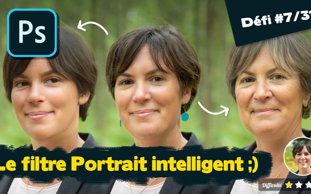 Photoshop 2021 : le filtre portrait intelligent