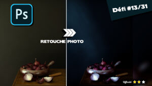 Retouche photo nature morte : workflow