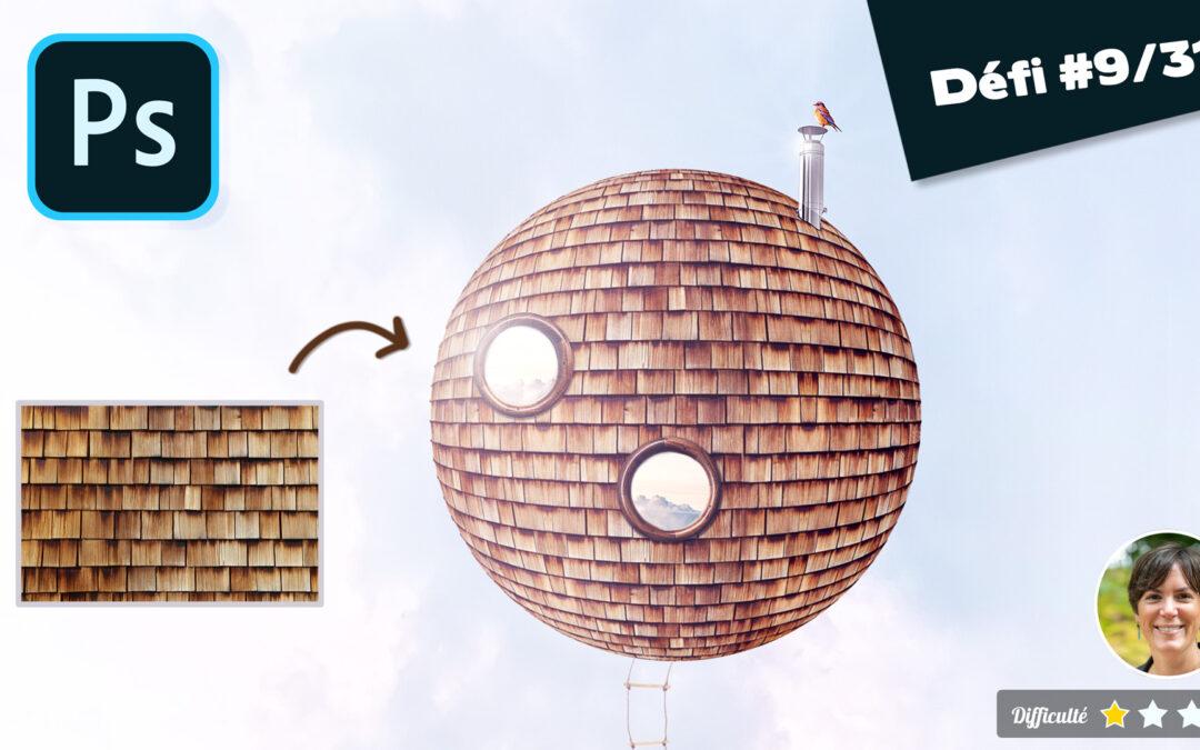 🎓 Astuce pour créer une sphère texturée en moins de deux minutes sur Photoshop