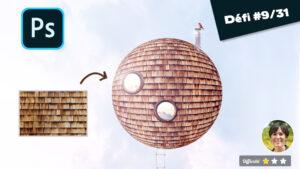 Comment créer une sphère texturée avec photoshop