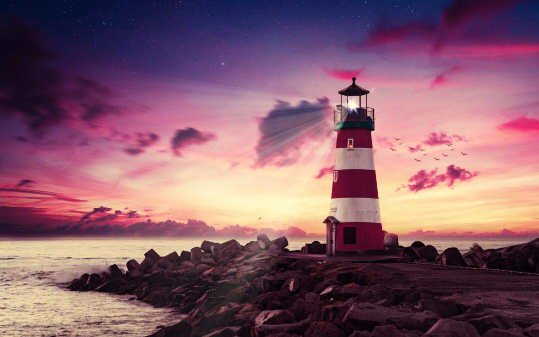 🎓Retouche créative d'une photo de phare