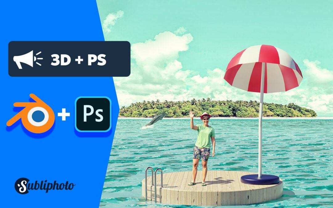 Blender et photoshop : comment les combiner