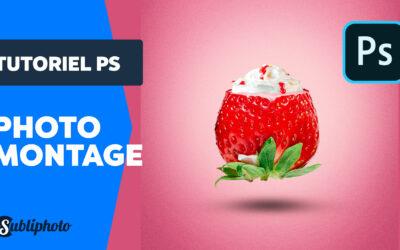 Tuto de photomanipulation : la fraise